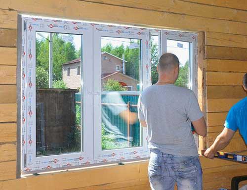 Как вставить пластиковые окна в каркасном доме своими руками 72