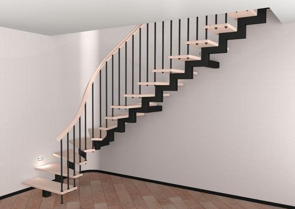 Pomocí správného konstrukčního výpočtu můžete udělat kovové schodiště pohodlné a bezpečné