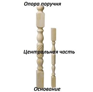 Dřevěný sloupek