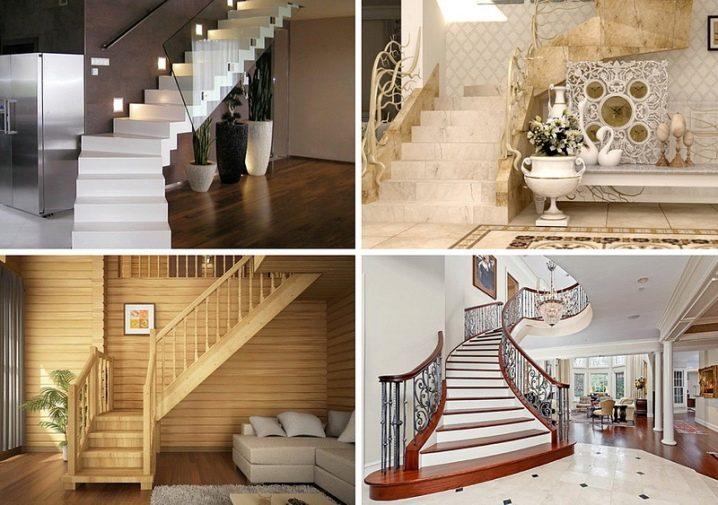 Vzdálenost mezi schody po schodech podle GOST