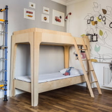 Детская комната для двоих детей: примеры ремонта, зонирование, фото в интерьере-0