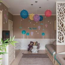 Детская комната для двоих детей: примеры ремонта, зонирование, фото в интерьере-1