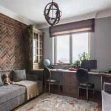 Детская комната для двоих детей: примеры ремонта, зонирование, фото в интерьере-4