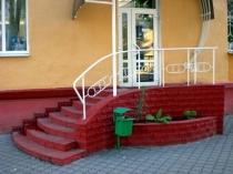 Cihlový dům veranda