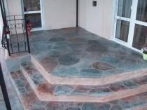 Přírodní kámen v dekoraci verandy