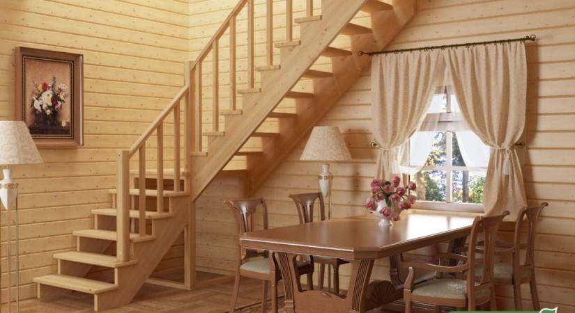 Lehké schodiště bez stoupaček