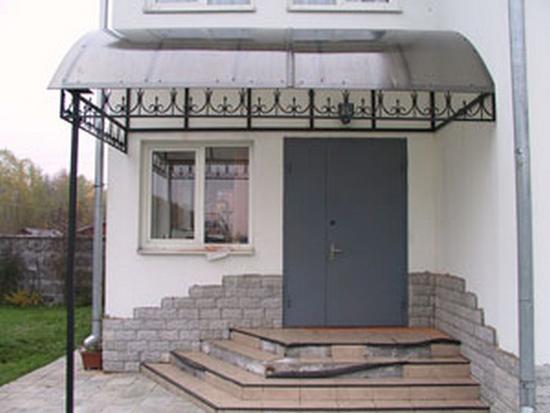 Vrchlík verandy z polykarbonátu