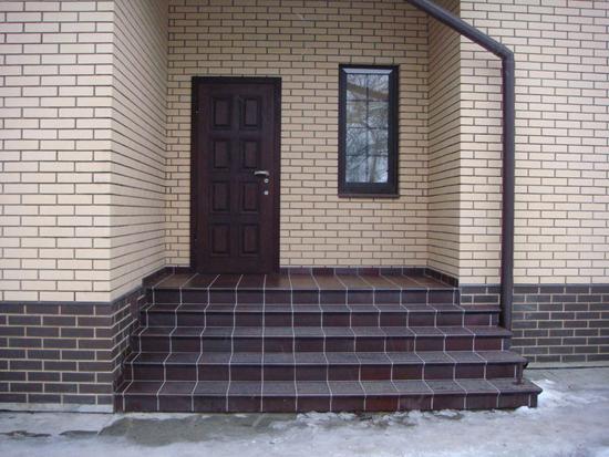 Obklady verandy