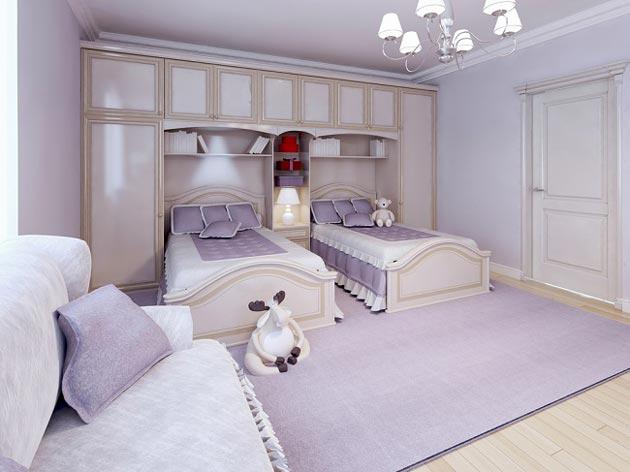 Оформление кроватей в стиле прованс