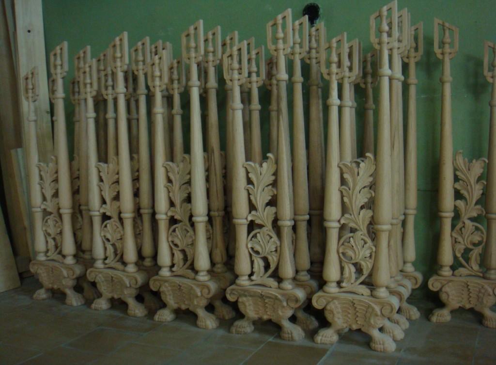 Fa tartóoszlopok