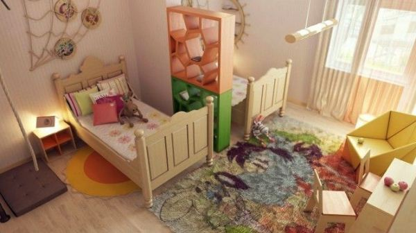 gyermekszoba zónázás 13. fotó