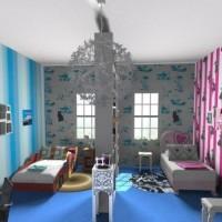 gyermekszoba zónázása 34. fotó