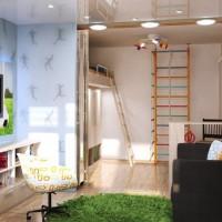 gyermekszoba zónázás 36. fotó