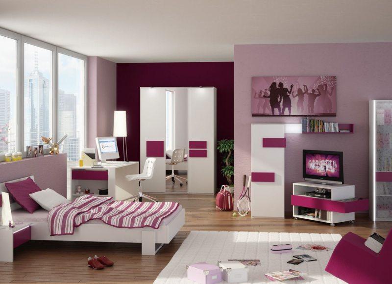 Спальня для девушки (51)