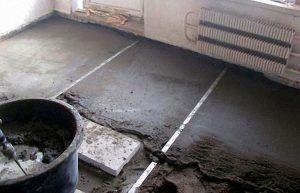 beton esztrich