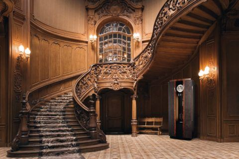 Faragott lépcső a barokk stílusban