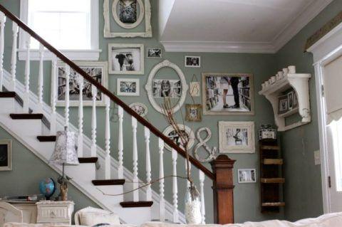 Tervezési lehetőség a lépcsőház szabad falához