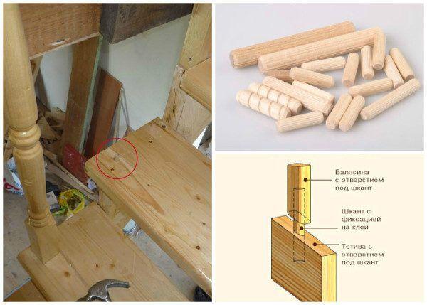 Instalace sloupků na schody pomocí hmoždinek