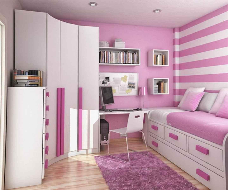 идея светлого дизайна детской комнаты для девочки