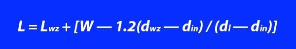 A nedvességtartalom szerinti áramlási sebesség számítási képlete