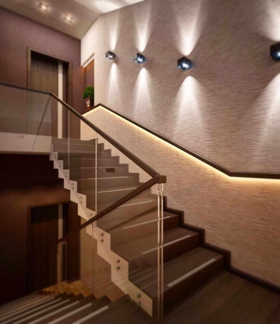 egy őszinte ház világos belső lépcsőjének gondolata