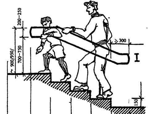 A lépcsőnek kényelmesnek kell lennie felnőttek és gyermekek számára egyaránt.