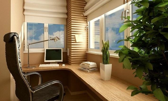 Актуальные идеи дизайна рабочего места на балконе — лучшие решения для интерьера