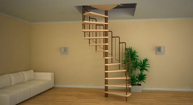 Lépcső kialakítása