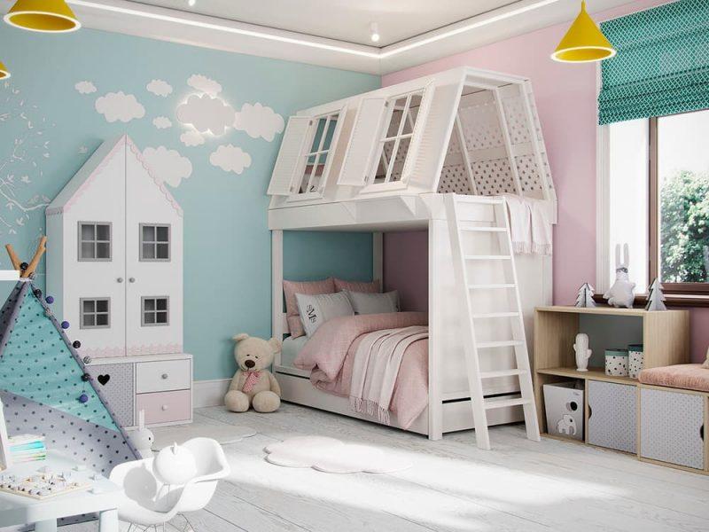 Детская комната для двух мальчиков - фото 54