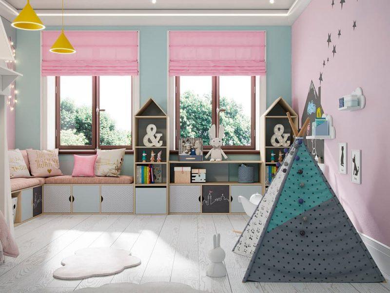 Детская комната для двух мальчиков - фото 55