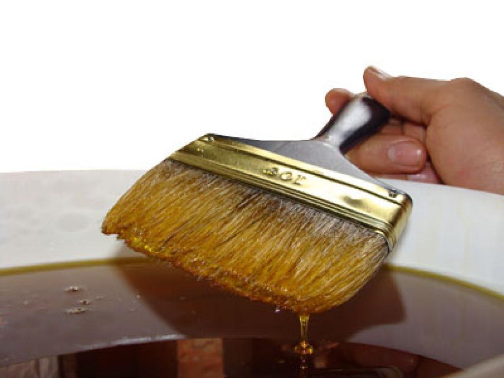 Sušící olej na dřevo