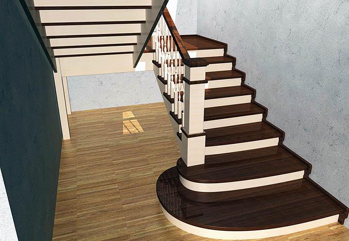 Hogyan rendezzünk el egy lépcsőt egy magánházban?