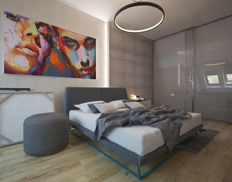 Интерьер комнаты для девушки в современном стиле хай-тек
