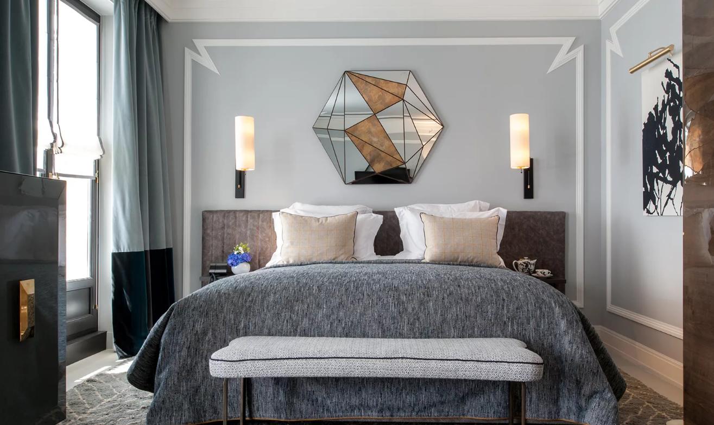 Примерно так выглядят красивые комнаты в стиле контемпорари