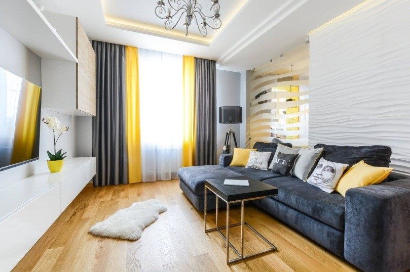 Спальня для девушки в современном стиле – вариант европейского дизайна
