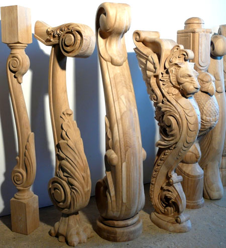 dubové sloupky