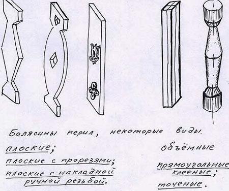 Druhy dřevěných sloupků