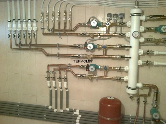 Термомиг - установка различных систем отопления