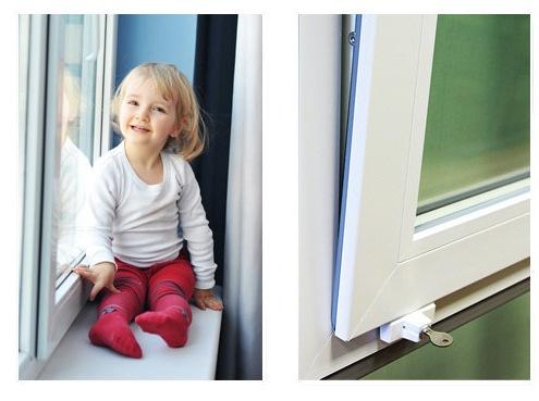 Наиболее востребованные детские замки для пластиковых окон