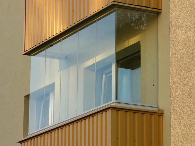 Дополнительная жилая площадь за счет теплого остекления балкона