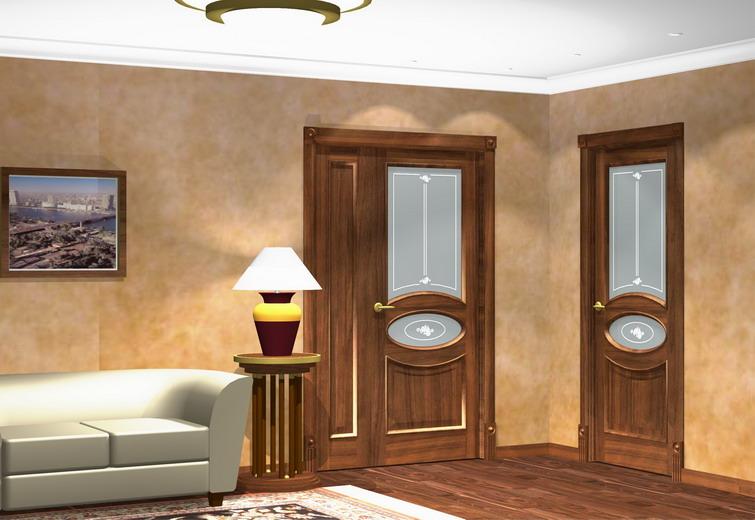 Как обновить внешний вид межкомнатной двери