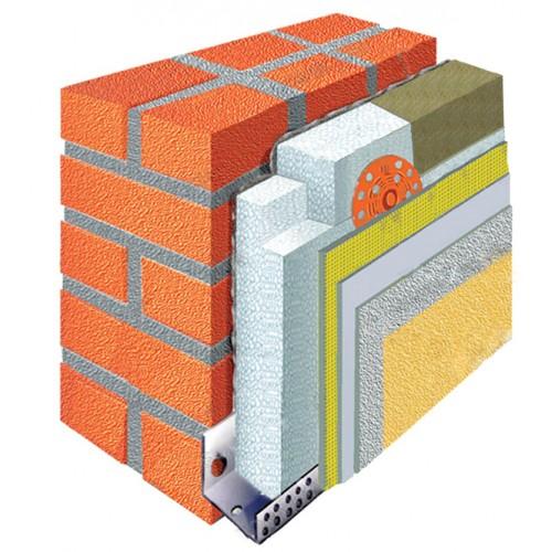 Утепление стен пенопластом - www.life97.com.ua