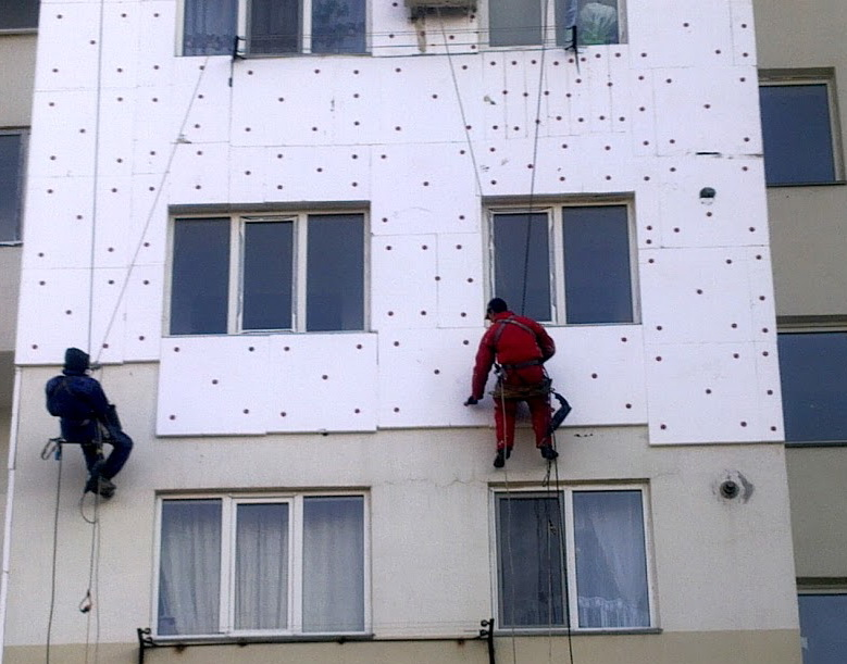 Пошаговая инструкция утепления фасада пенопластом.
