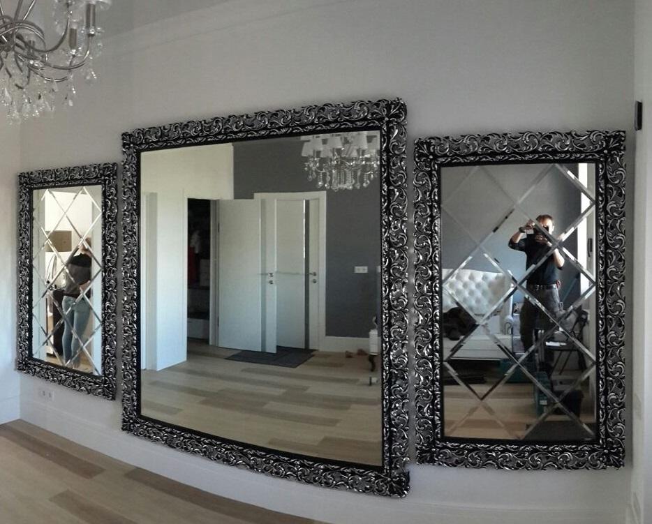 Зеркало в раме - украшение дома