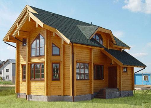 Главные преимущества домов из профилированного бруса