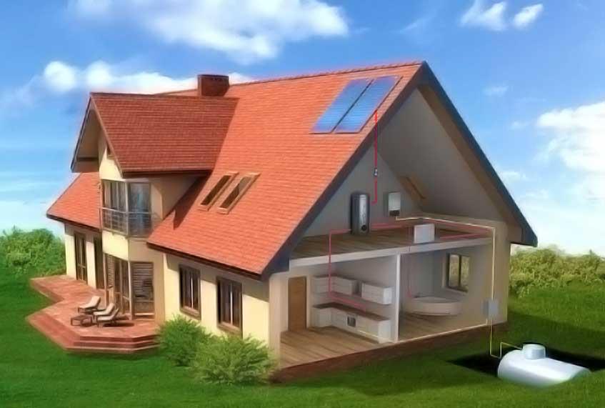 Автономное газоснабжение дома: «за» и «против»