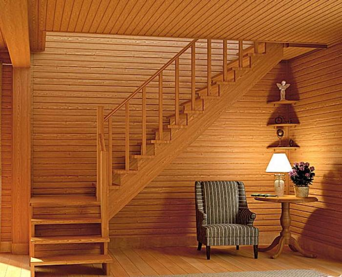 """Идеальная лестница для дома или дачи от компании """"ПоЛесенка"""""""
