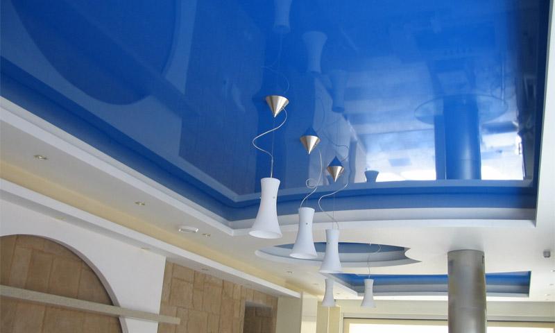 Чем натяжные потолки значительно превосходят подвесные конструкции