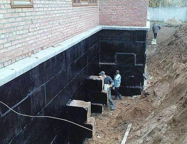 Особенности и нюансы гидроизоляции фундамента дома снаружи