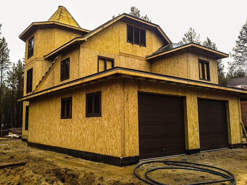 Дома из СИП-панелей – высокая прочность, надежность и долговечность